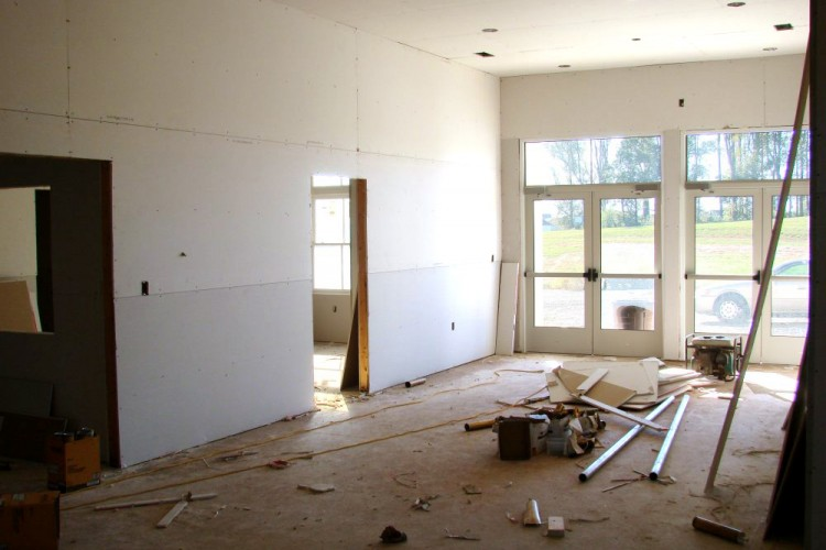 Foyer Dry Wall